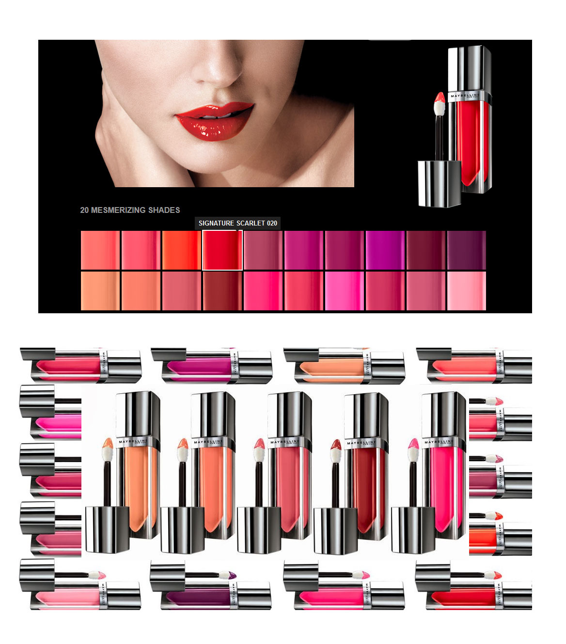 Maybelline THE ELEXIR Colorsensational Lip Color Gloss