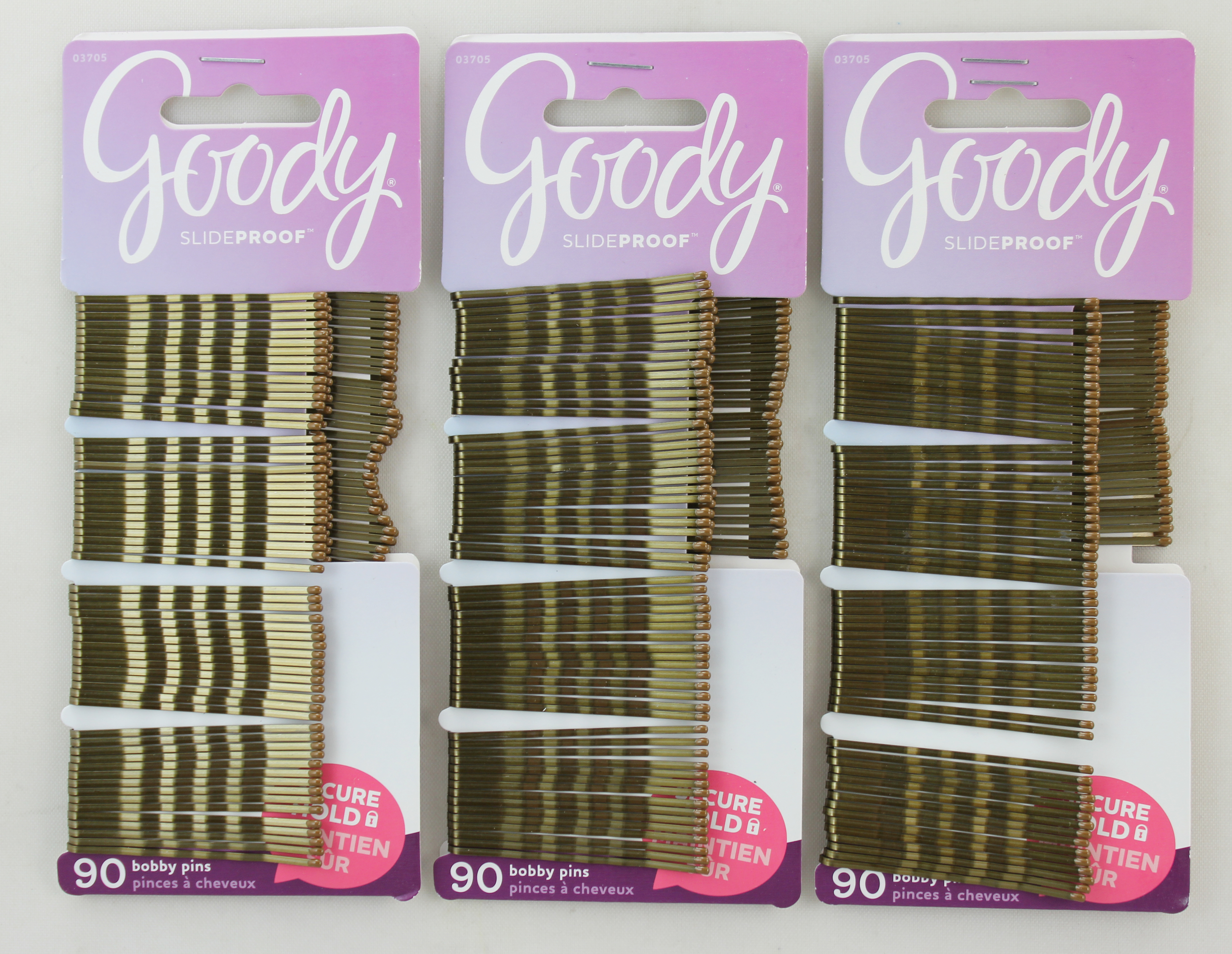 Goody Brown Bobby Pins 90 Count