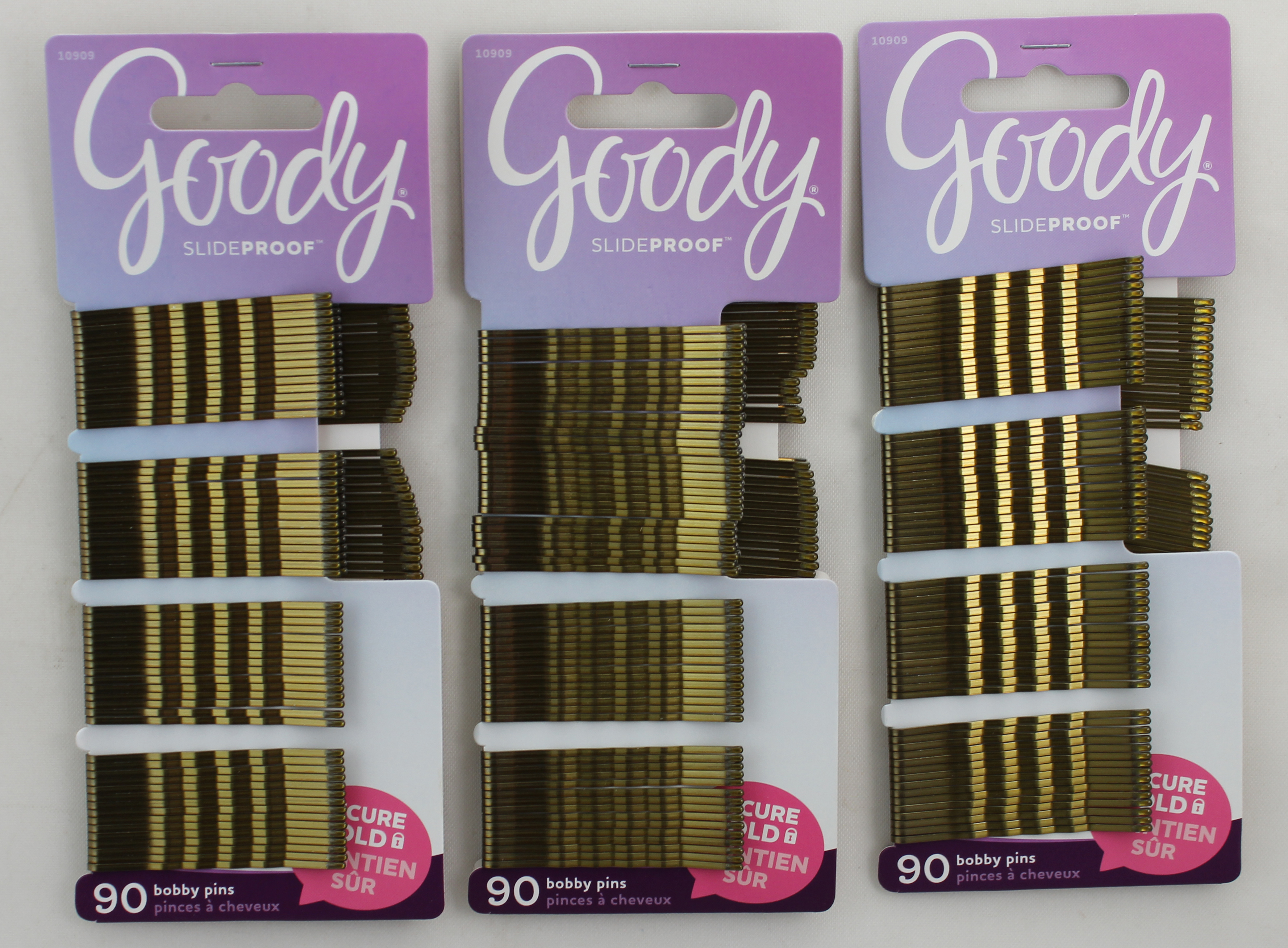 Goody Bobby Pins Slide Proof Blonde 90 CT