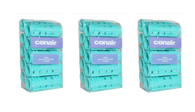Conair Magnetic Rollers Small 10ct