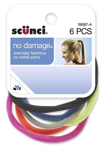 Scunci No Damage Ponytail Holders ? 6 pieces