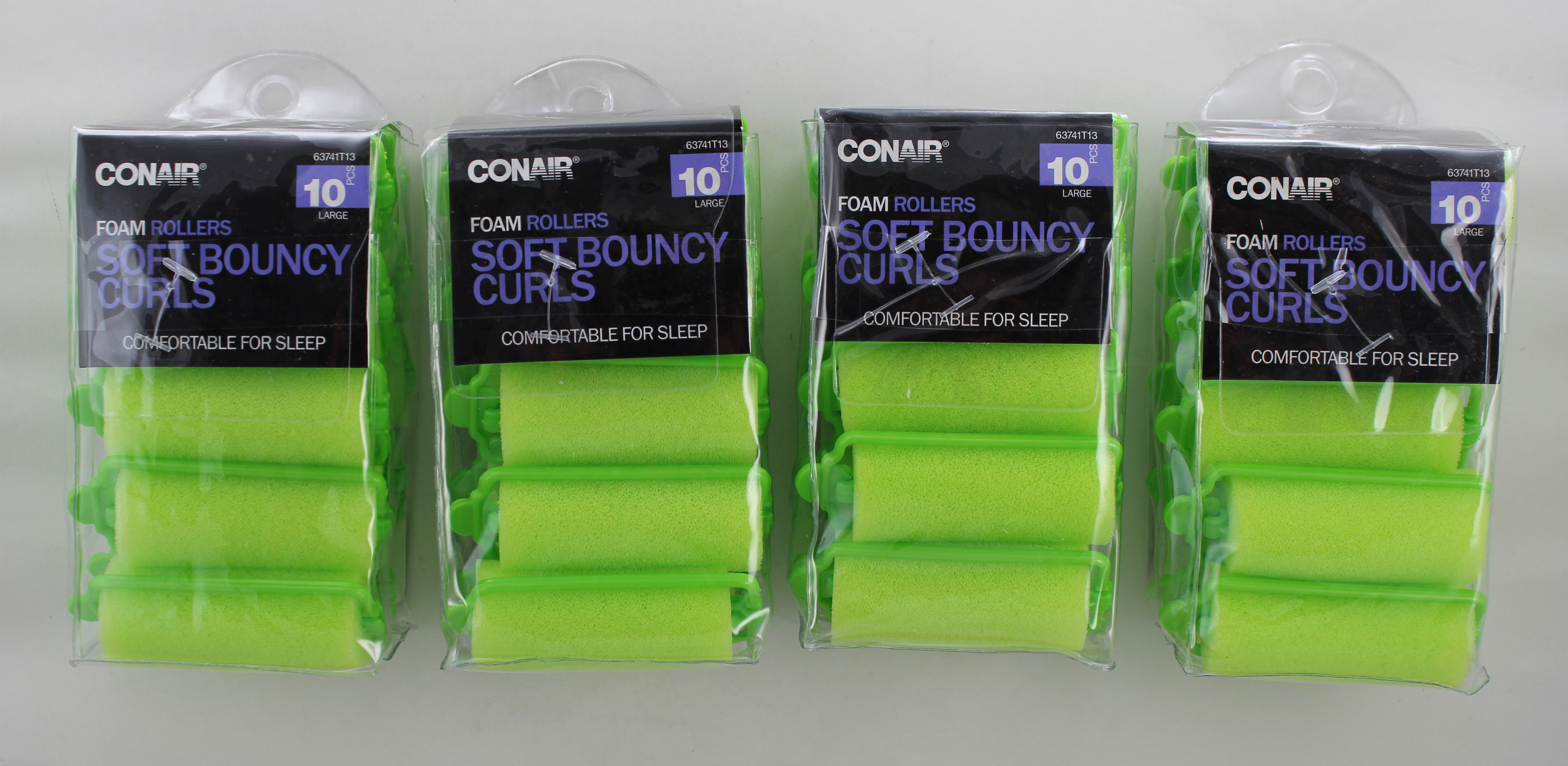 Conair 10 Pack Large Foam Rollers