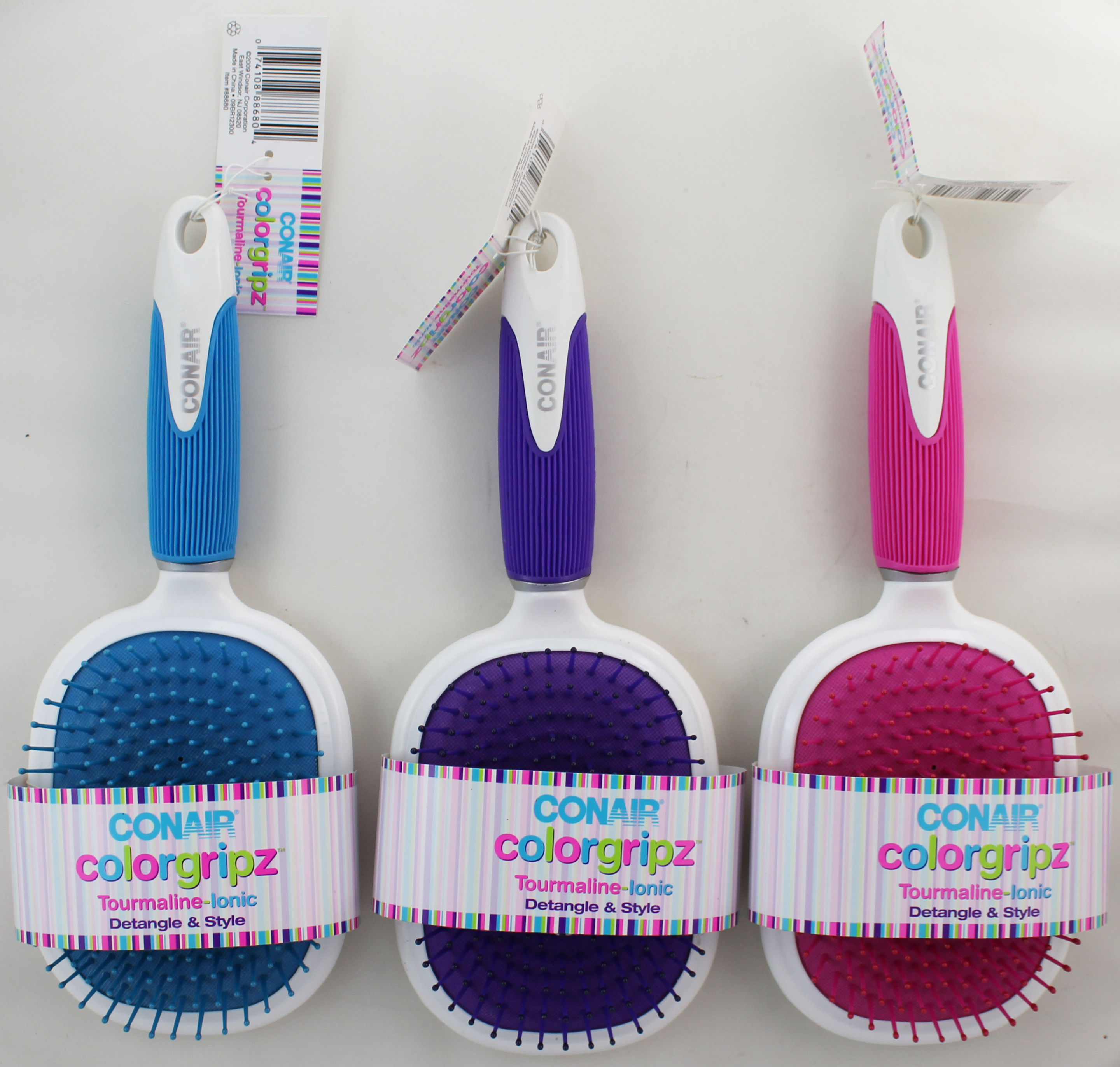 Conair ColorGripz Paddle Brush