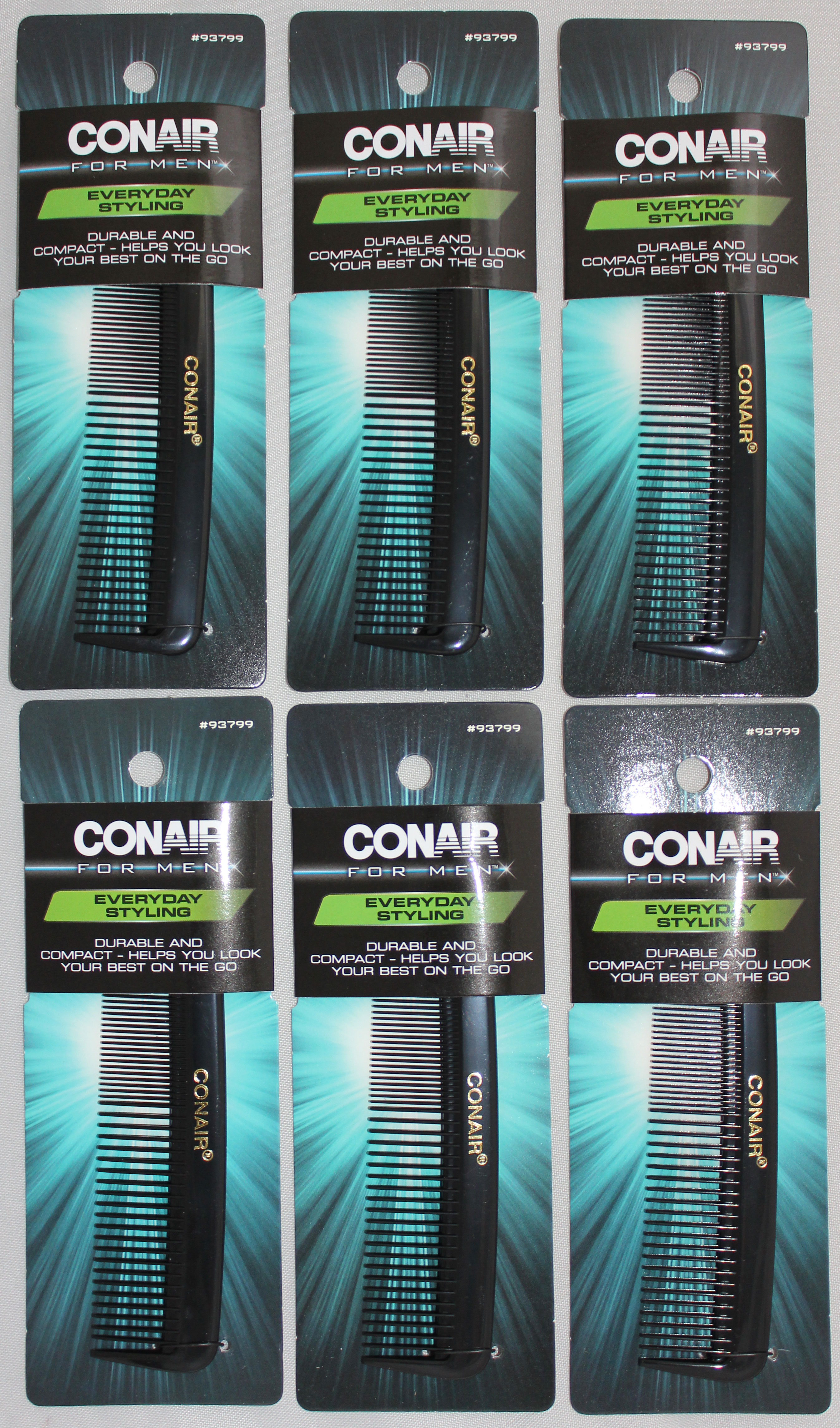 Conair Men's Single Pocket Comb 1 count