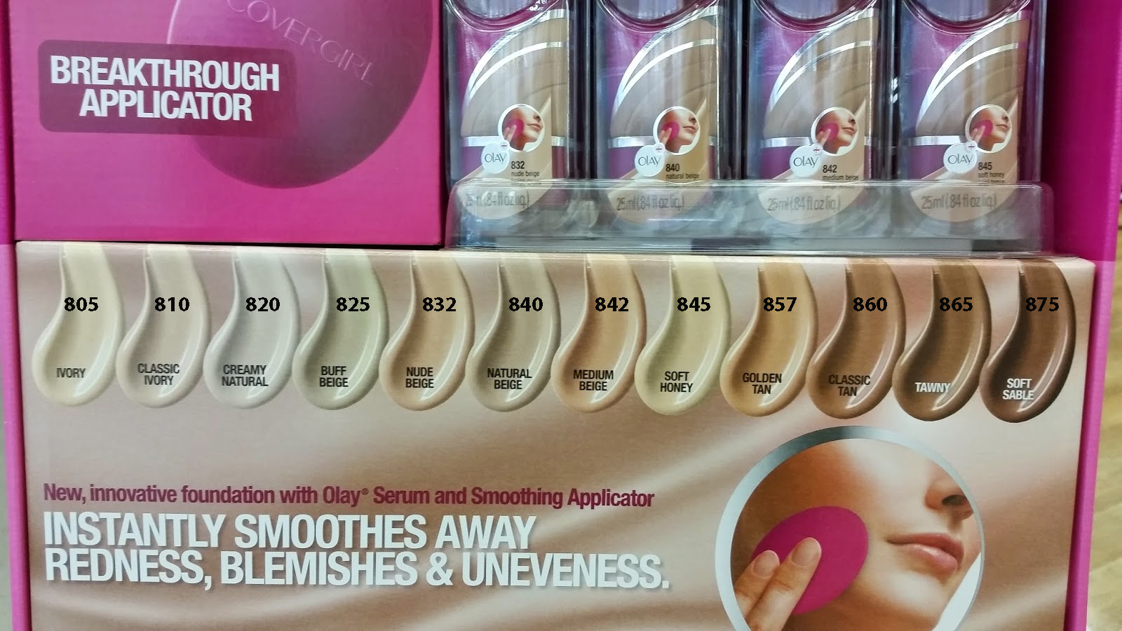 Covergirl Ultra Smooth Foundation With Applicator