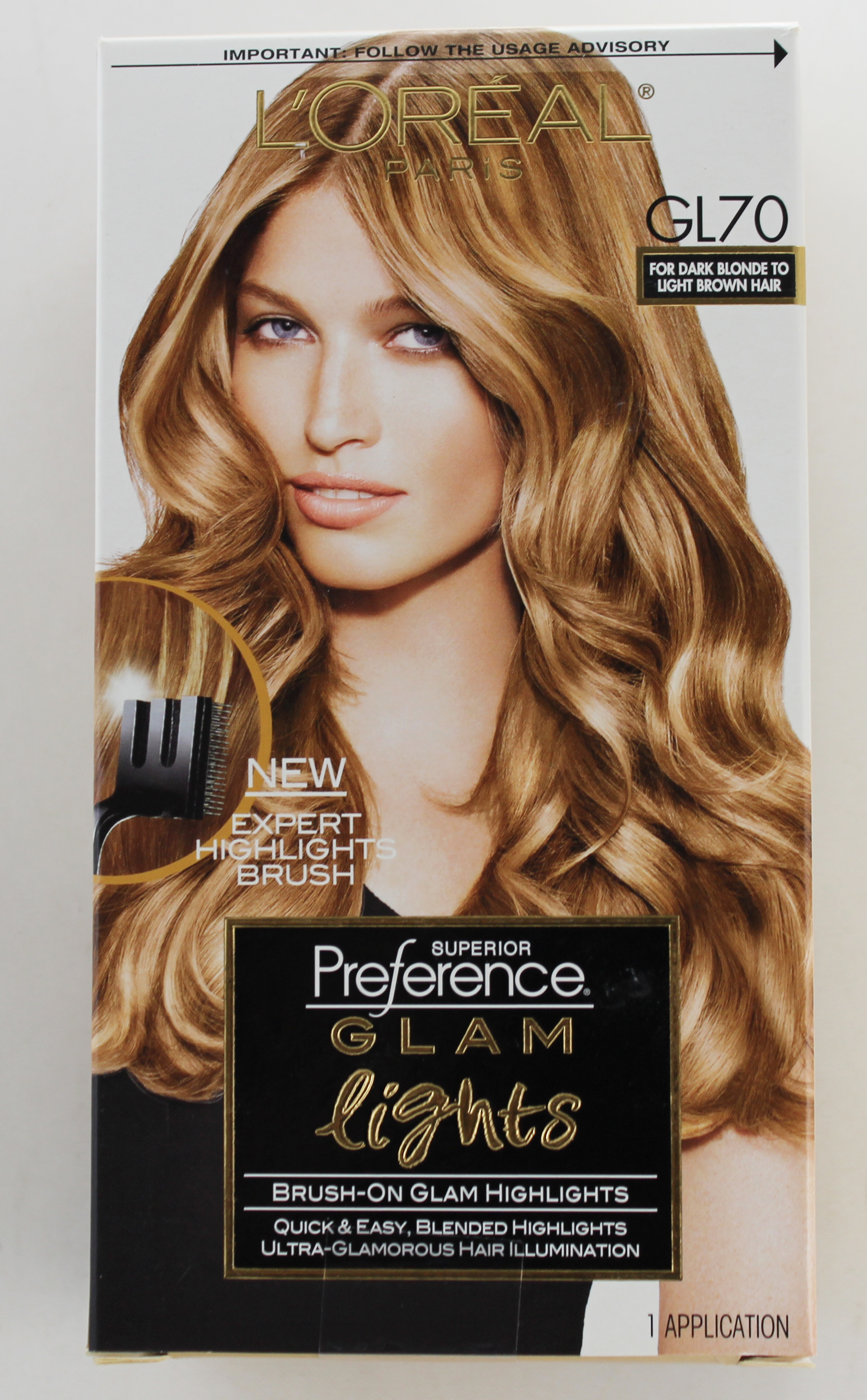 L'Oreal Paris Superior Preference Glam Lights Highlights, GL70 Dark Blonde