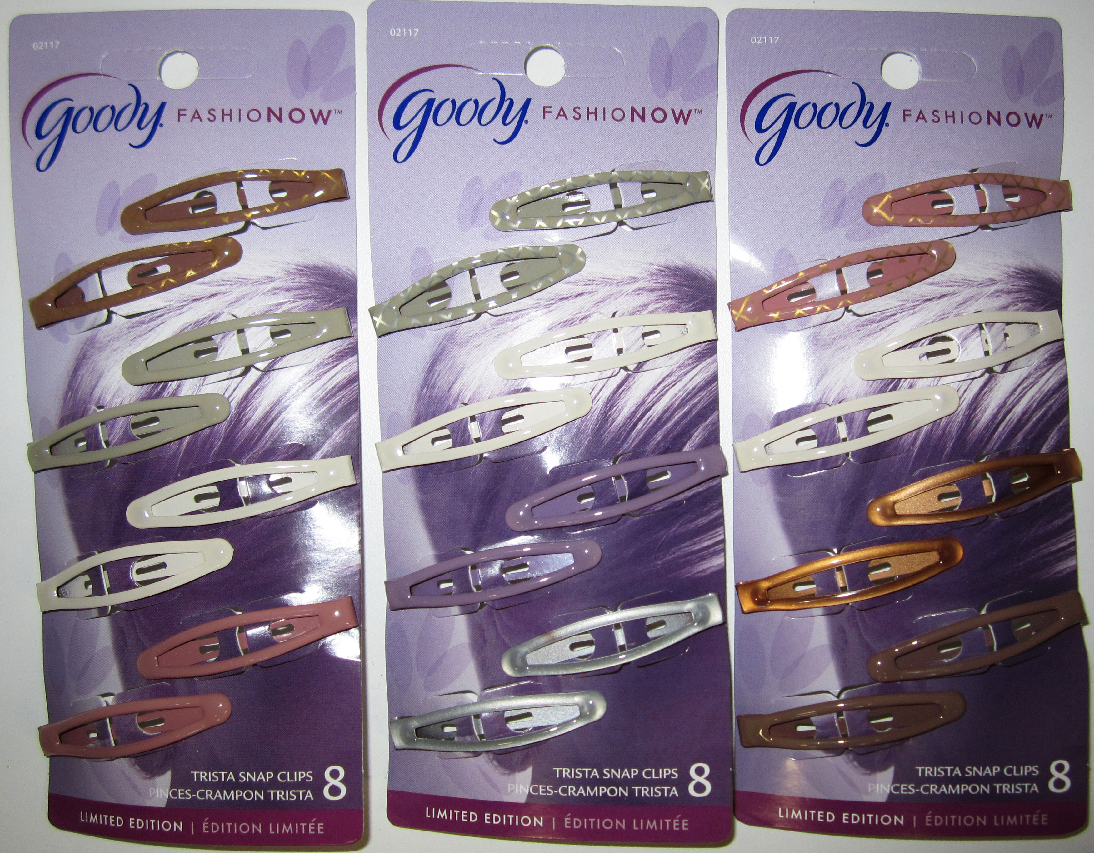 Goody Fashion Now Limited Edition Trista Snap Clips (8count)