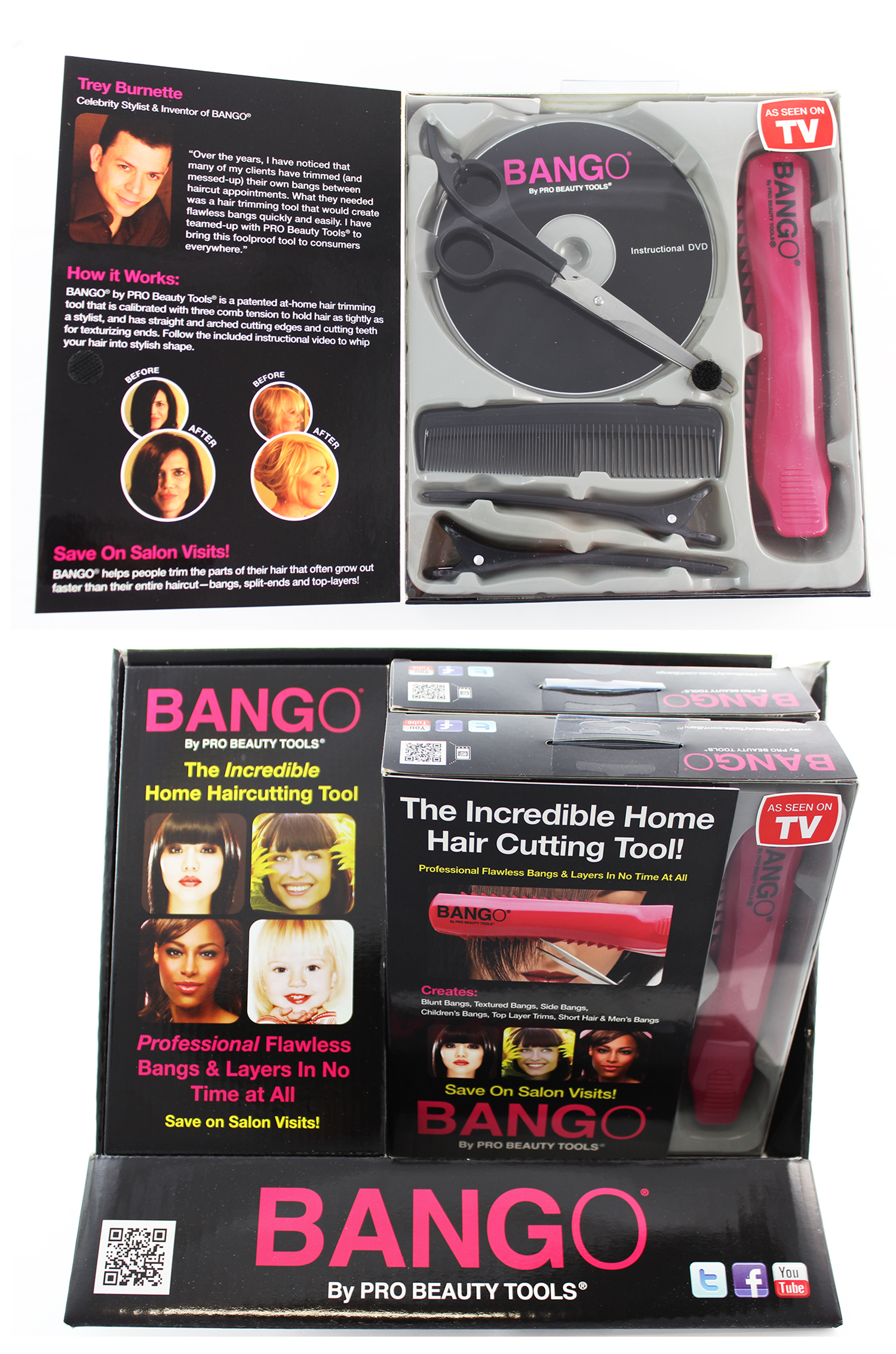 Bango Purple Haircutting Tool, 097954423009