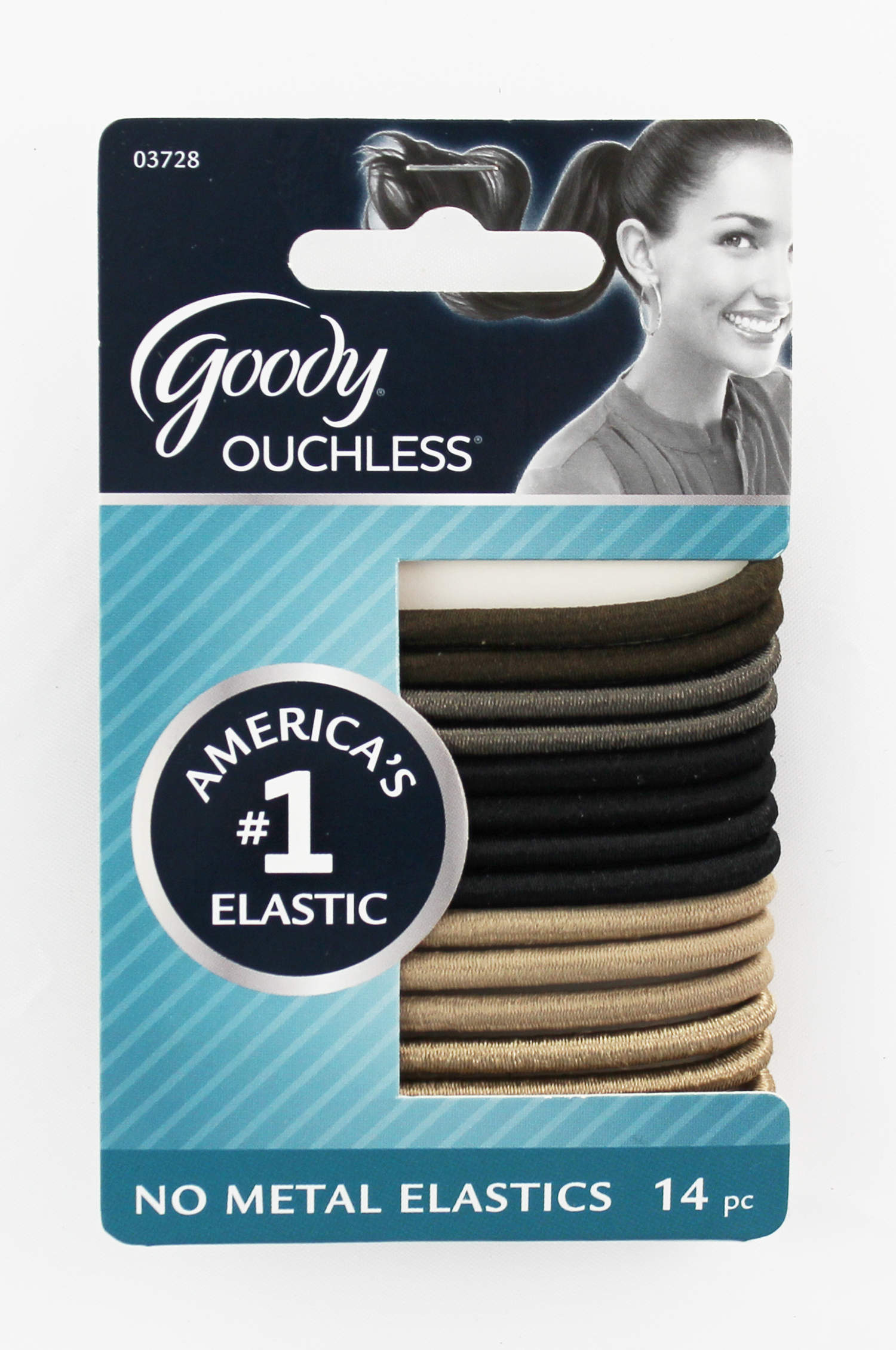 Goody Ouchless Starry Nights Gentle Elastics 14 Count