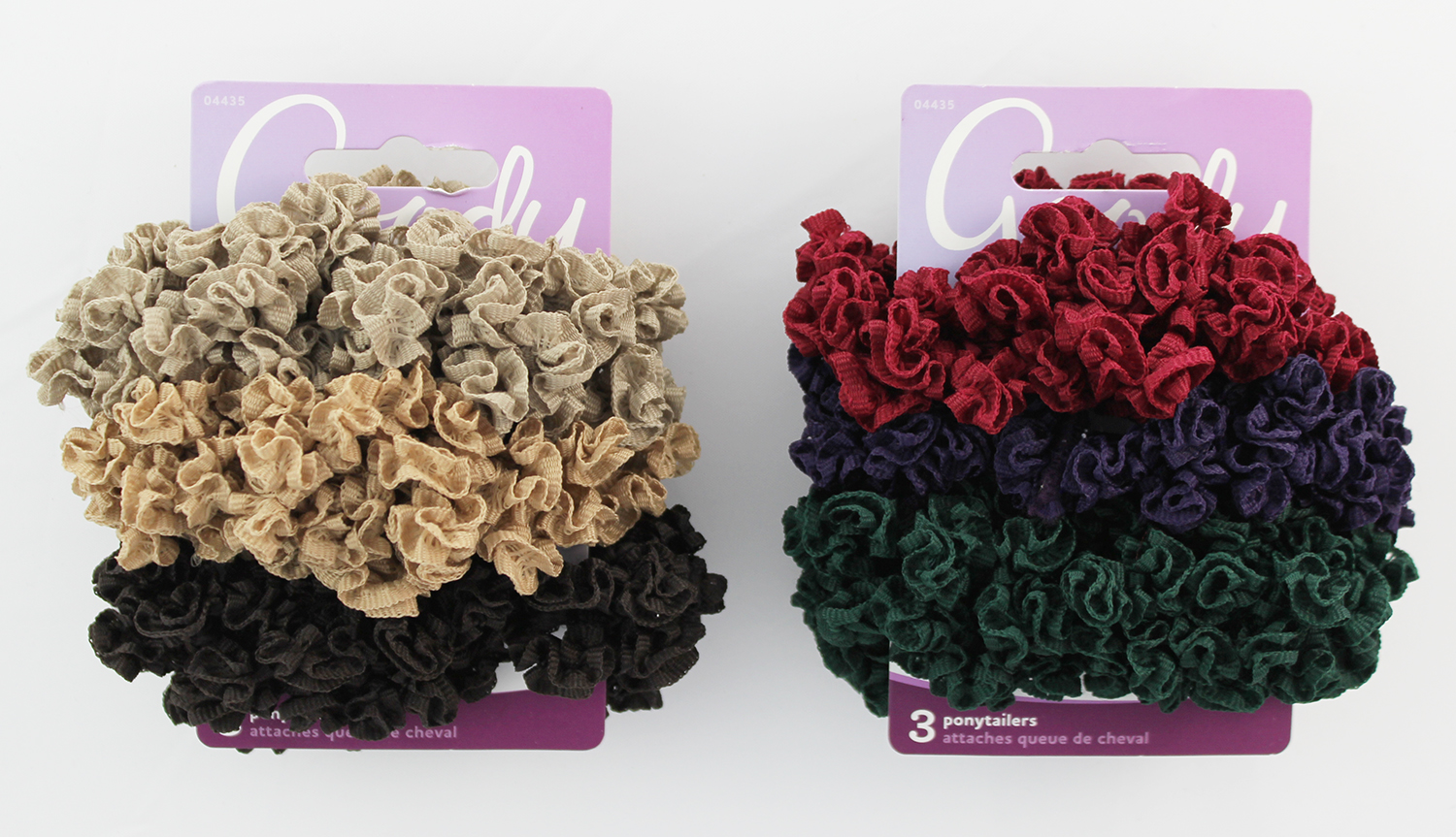 Goody Women's Ouchless Loop Ribbon Scrunchies, Medium, 1984270 04435