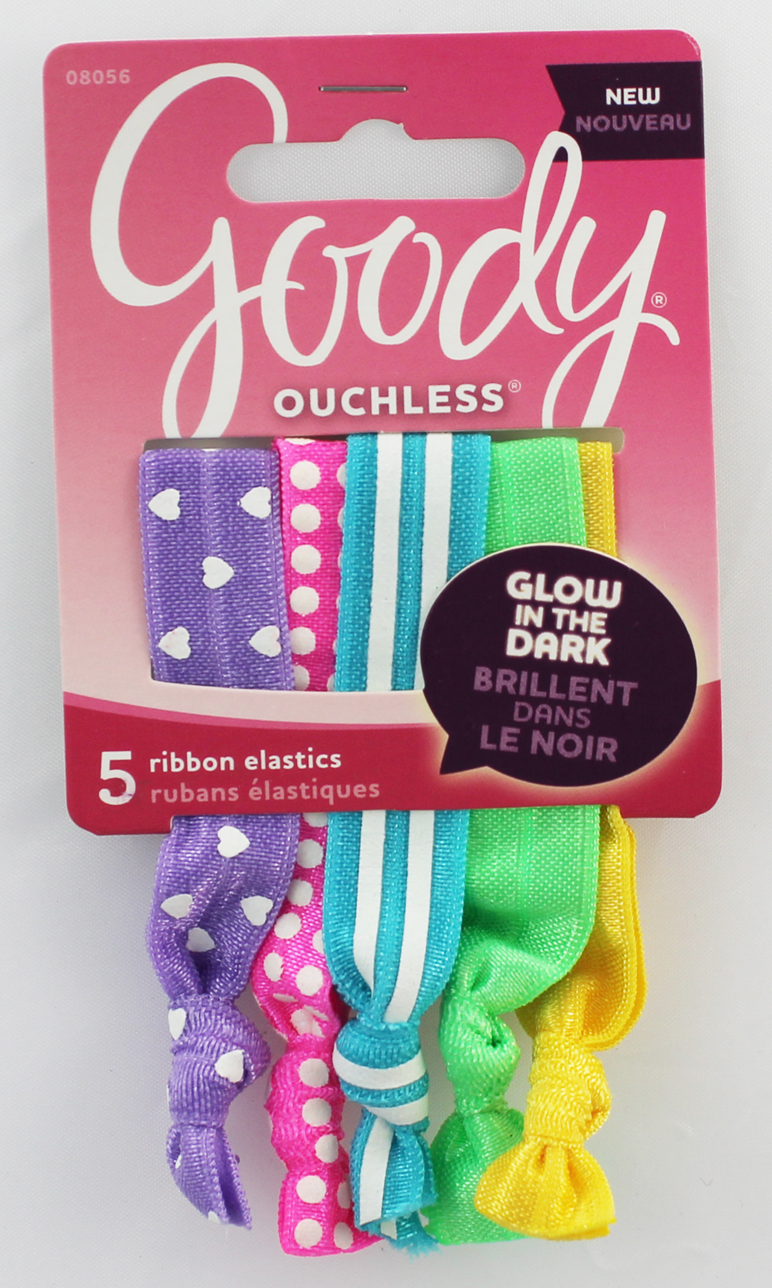 Goody Girls Glow in the Dark Ribbon Elastics 1946120 041457080566