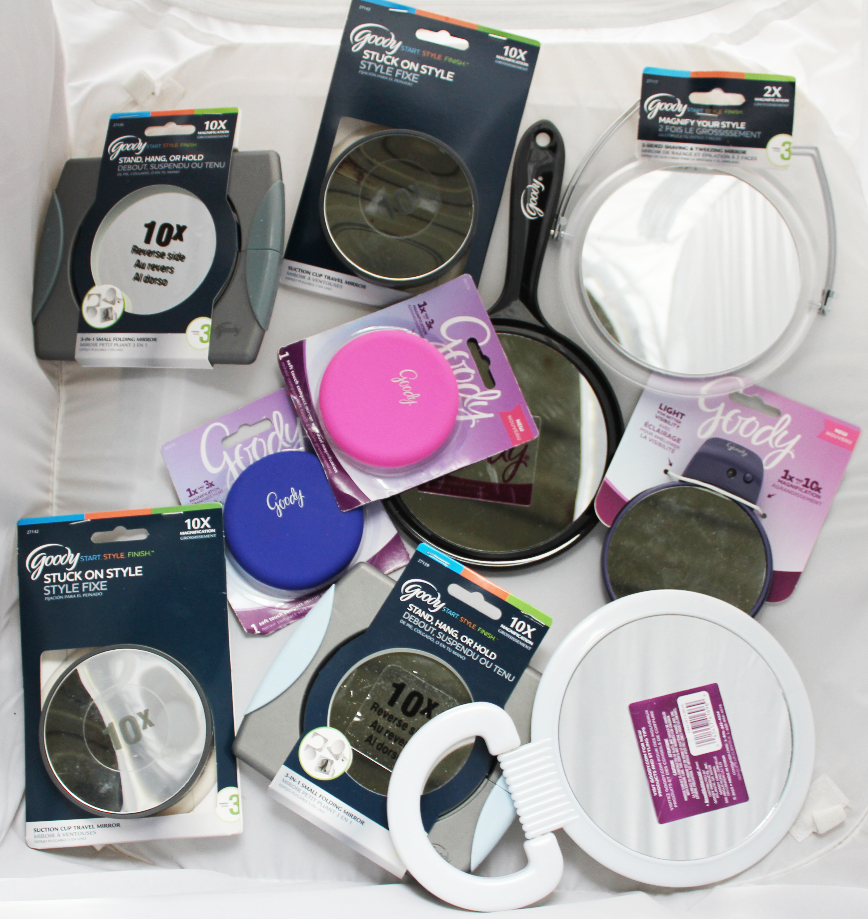 Goody Compact Magnifying Mirror 36-Pack Mix Lot - 1 Count